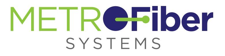 Metro Fiber Systems Logo